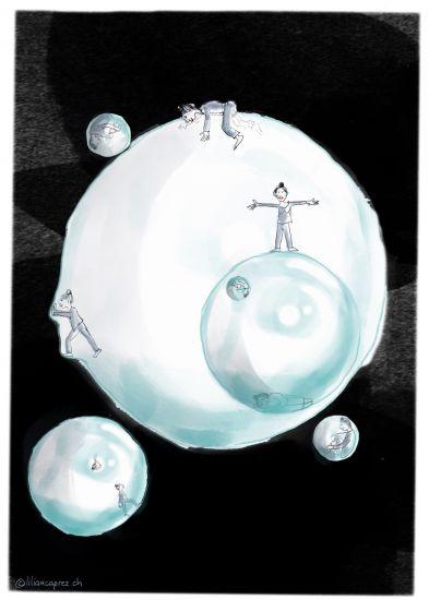 Raus aus der Bubble!