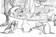 Comics, Cartoons und Karikaturen: Das tierische Alphabet