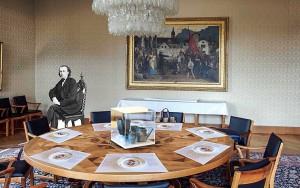 """Vernissage der Ausstellung """"Brahms in Winterthur"""""""