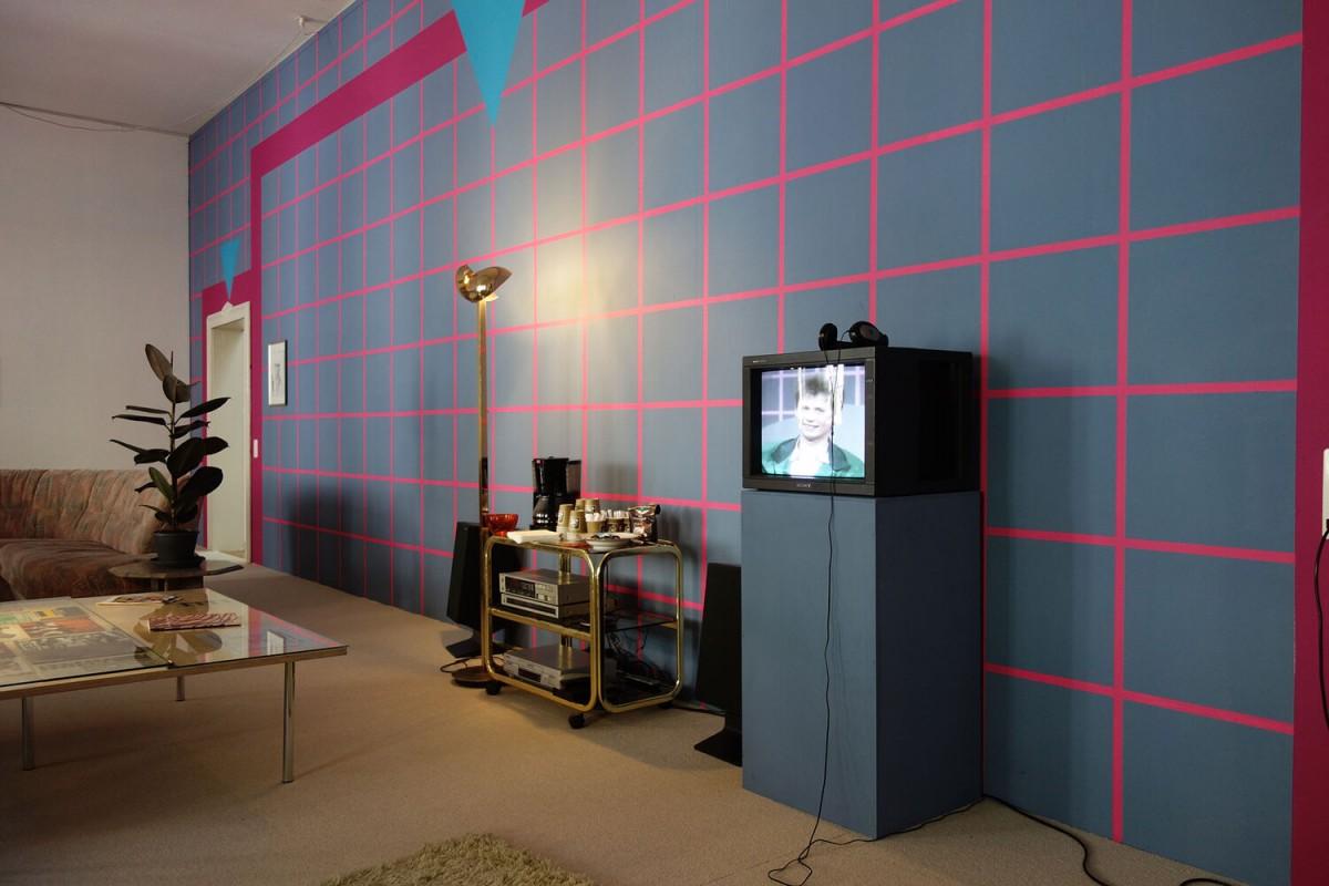 40 Jahre Kunsthalle Winterthur: Sofa- und Medienlandschaft zu den 1980er Jahren
