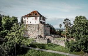 Knarren im Gebälk – Kunst spielt mit Schloss