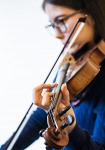 Vortragsstunde – Violine